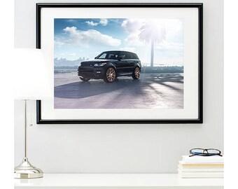 Range Rover Sport Front Angle, automotive photography, automotive prints, car photography, car prints, european car, @richardlephoto