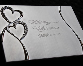 Personalized Wedding Photo Album Book, Custom Wedding Album, Wedding Couple Gifts, Unique Wedding Gifts for Couple, Wedding Gifts for Couple