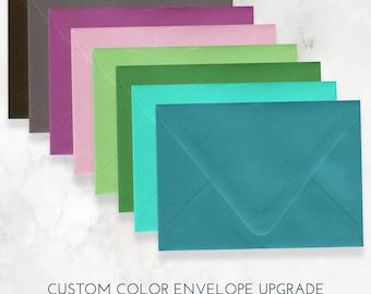 Custom Color Envelopes for 5x7 Cards