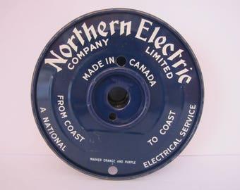 Vintage Northern Electric Advertising Spool