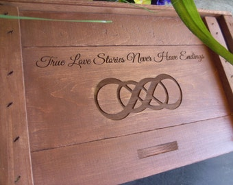 Wine Box, Wedding Ceremony, Winebox Ceremony, Love Letter Box, Wedding Wine Box, Wedding Gift, Memory, Keepsake, Two Bottle Wine Box