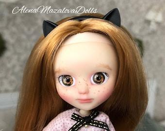 "Custom petite Pullip doll ""Meggy"""