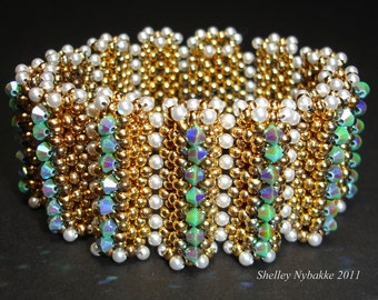 Just Feels So Right Bracelet Tutorial - pdf Instructions ONLY