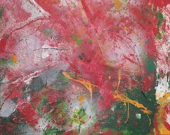 Picture * Autumn foliage in the wind * 60 x 80cm