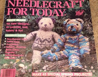 Needlecraft for Today craft magazine March 1984 - Happy Hands Monthly