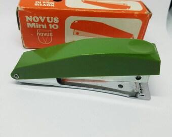 Vintage Stapler Novus Mini 10