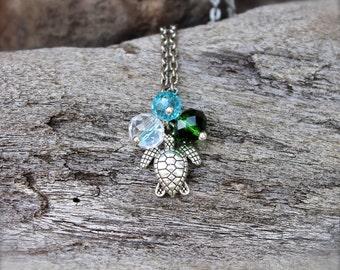Sea Turtle Jewelry from Hawaii - Hawaiian Honu Necklace - Sea Turtle Necklace - Hawaiian Jewelry - Hawaii Honu Jewelry - Hawaii Necklace