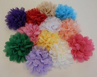 Chiffon Flower Clip