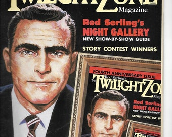 Two TWILIGHT ZONE MAGAZINES | April & May-June 1985 | 4th Anniversary Issue | Set of 2 Issues