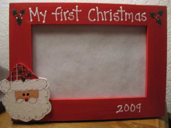 My first Christmas 2017 Christmas frame personalized baby