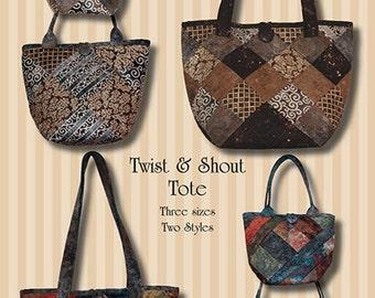 Twist and Shout Tote PDF Pattern