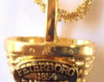 Vintage Peterboro Basket Co. Pendant Necklace