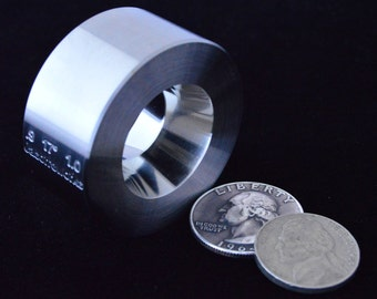 """One  .9"""" x 1.0"""" @ 17 degrees Universal Folding/Reduction Die Hardened Stainless Steel"""