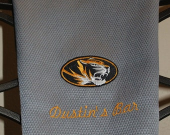 Personalized Missouri Tigers Hand Towel