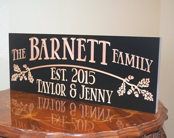 Cabin Sign, Family Name Sign, Lake House Sign, Welcome To The Lake Sign, Fixer Upper Sign, Benchmark Signs, Maple OB