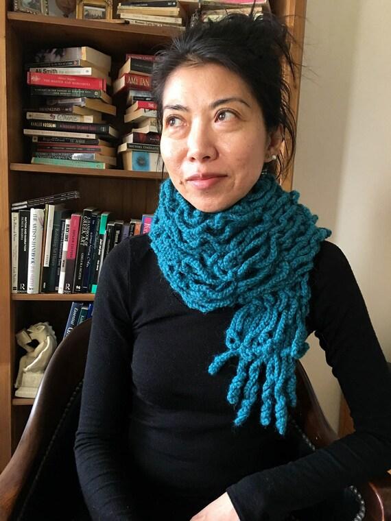 Womens Scarf CROCHET PATTERN Scarf PDF Crochet Scarf