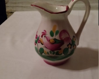 "Vintage St. Clement France Pottery 4 1/4"" Pitcher"