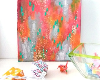 Fire - abstract - originale - abstract paint