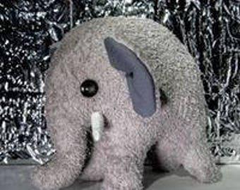 Elephant, plush elephant,