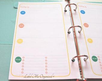 Perpetual Daily Planner - A5 Sized