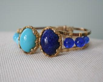 Vintage Jomaz Pins on Cuff Bracelet