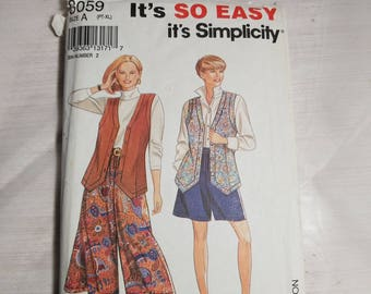 Vintage Sewing Pattern by SIMPLICITY #8059