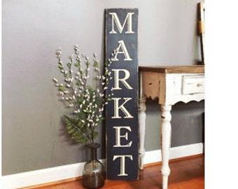 Farmhouse Sign - Market Sign - Wood Sign - Kitchen Decor