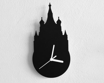 Saint Basil Cathedral Moscow Russia  - Wall Clock