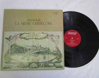 Pierick Houdy / La Messe Quebecoise / Vinyl LP / London  / LOS 26604