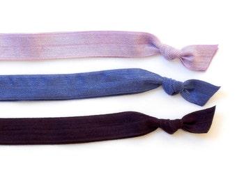 Night - Set of 3 Comfort Elastic Headbands