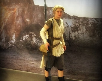 Complete Rey Costume from The Force Awakens