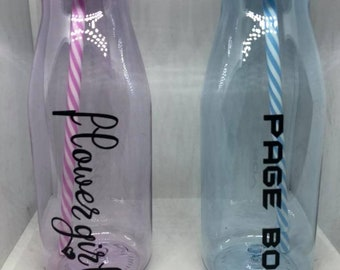 Personalised Plastic Milk Bottles