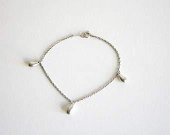 Tiffany and Co Sterling Droplet Bracelet