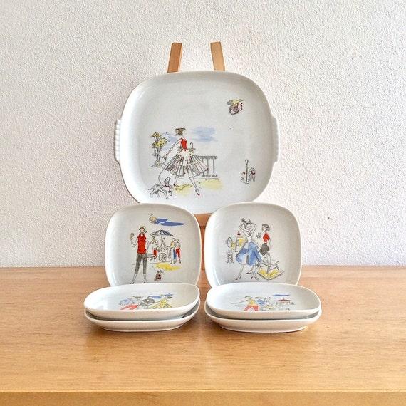 bavaria wunsiedel claudia porzellan konfekt set kuchen set. Black Bedroom Furniture Sets. Home Design Ideas