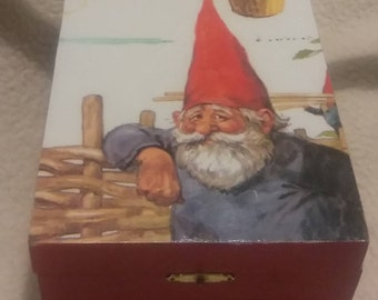 Hinged Box featuring Gnome