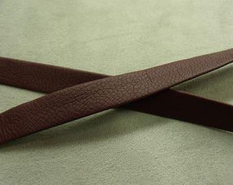 Leatherette-2 cm Burgundy Ribbon