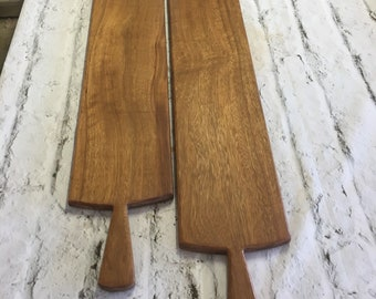Iroko charcuterie boards