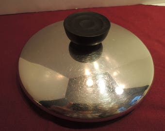 """Revere Ware 5 3/8"""" rim diameter lid fits 1 qt saucepan, Pot top, Great condition, Vintage"""