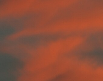 Framed Fine Art Print of the Sky at Dawn for the Home or Office