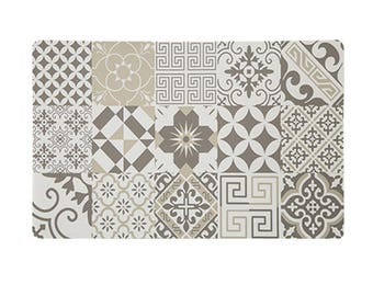 Arabesque Style Taupe tones placemat set of 6