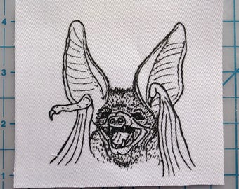 Bat Scream Patch