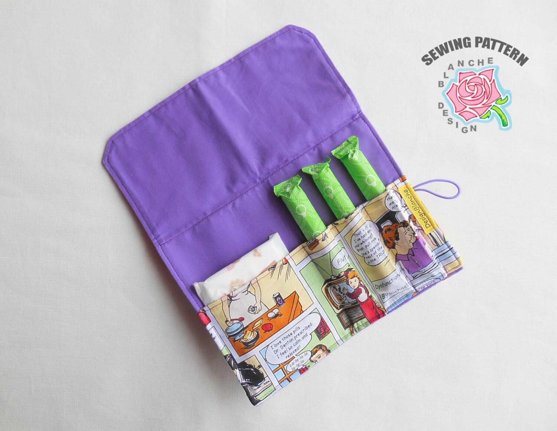 Pad tampon holder pdf sewing pattern privacy wallet pdf zoom jeuxipadfo Choice Image