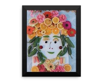 Framed Fruity Tooty Poster