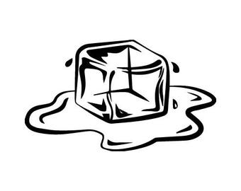 ice cube clipart etsy rh etsy com ice cube clipart free ice cube clipart png