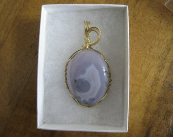 Handcrafted Wire Wrapped Agate