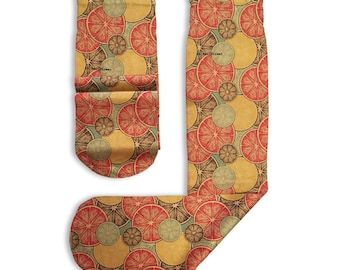 Stockings Printed Citrus