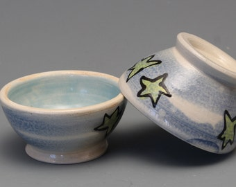 Set of 2 Small Starry Bowls