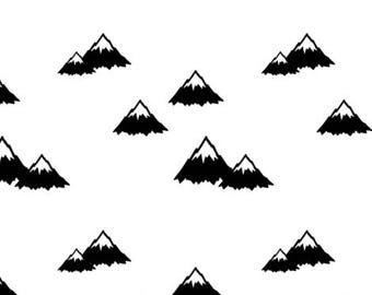 Changing pad cover - Mountains Contour Changing Pad Cover - Mountains
