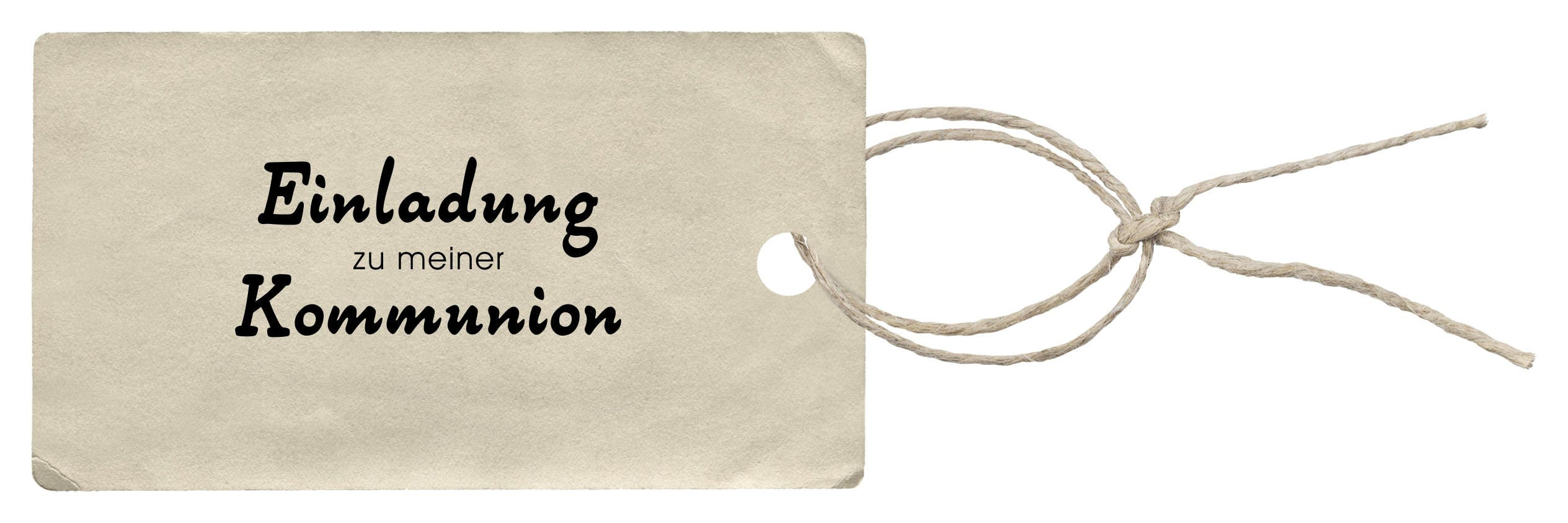 Stamp Invitation to my communion handle 30 x 55 mm