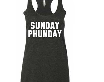 Sunday Phunday Phish Woman's Tank Top